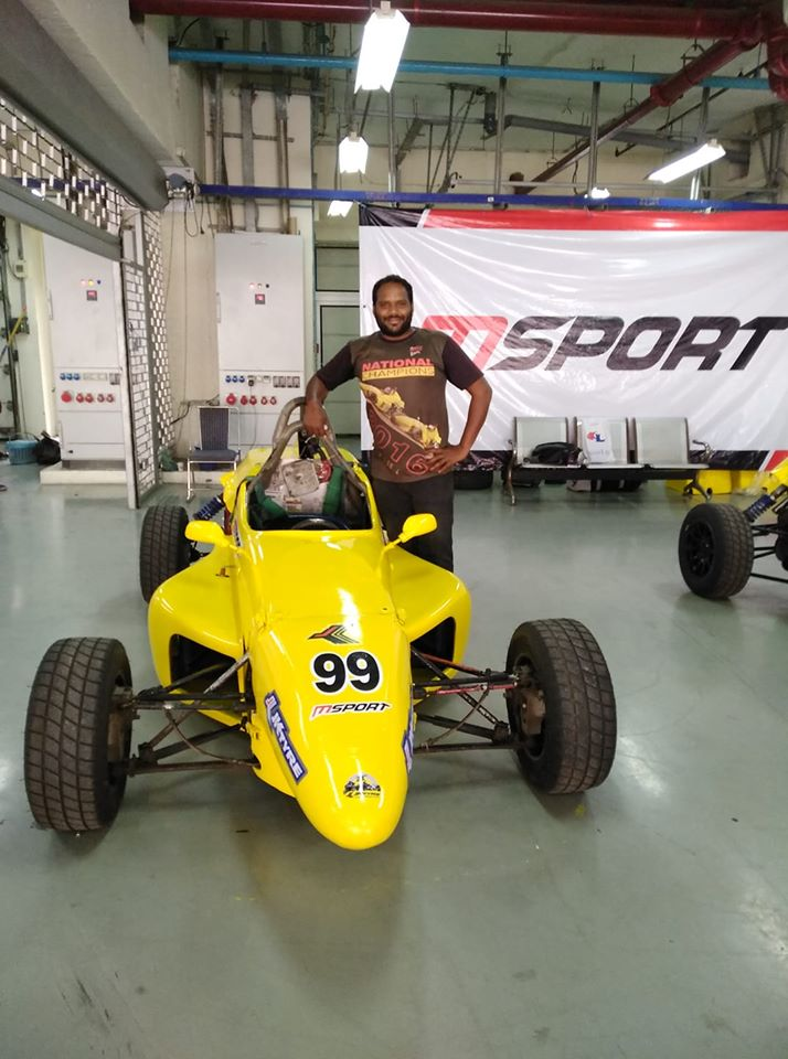 Nagarajan PL : Chief Mechanic MecoMotorsports