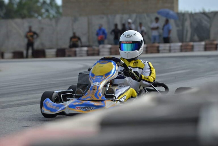 Arjun Syam Nair : The Karting Champ