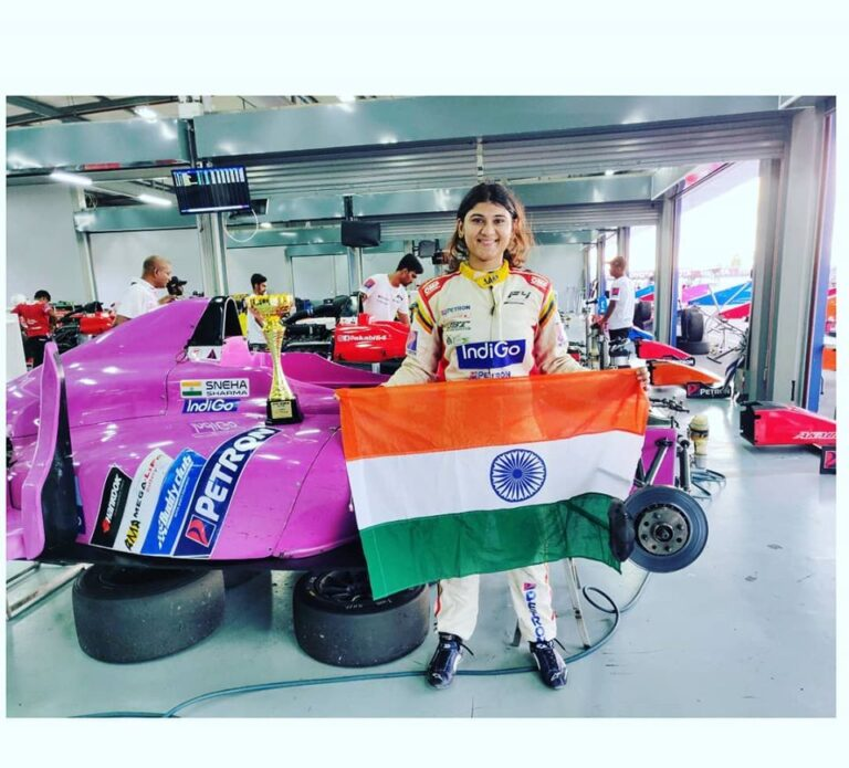 Sneha Sharma : Flying Captain and Formula Racer