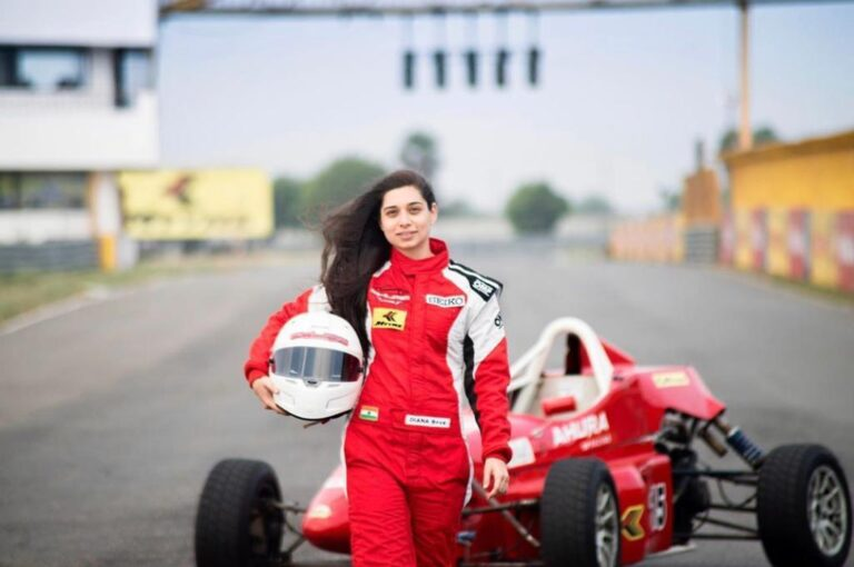 Diana Pundole : Karting, Formula Racing and Autocross racer