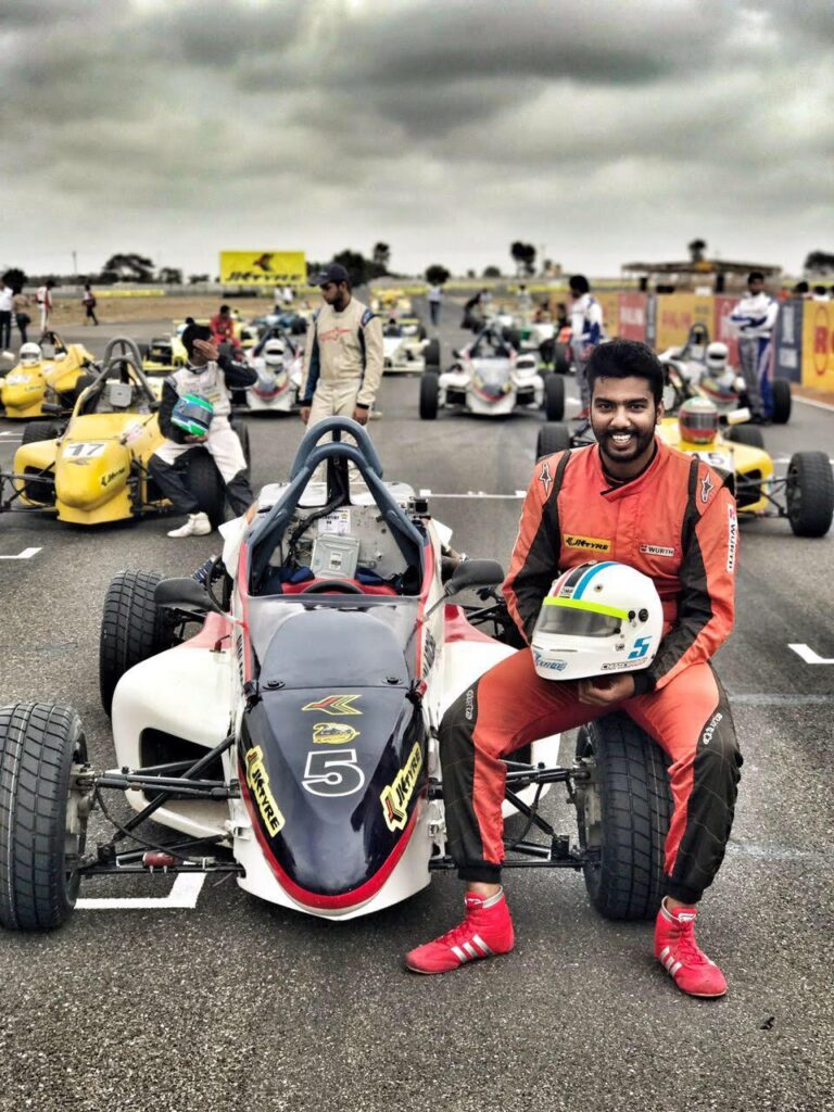Chittesh Mandody : The Outstanding Racer