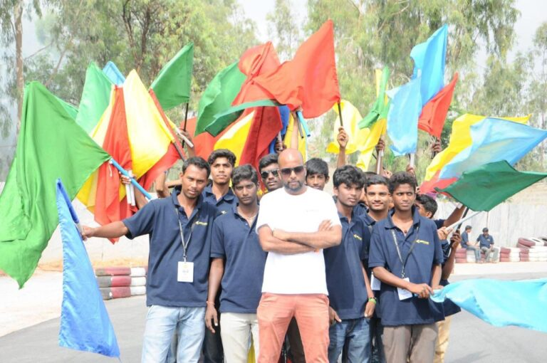 Vijay Kumar: Chief Marshal with a Magical Flag